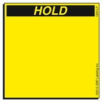 HOLD Quality Control Label Q061LP